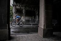 Stijn Devolder (BEL/Veranda's Willems Crelan)<br /> <br /> 78th Euro Metropole Tour 2018<br /> La Louvi&egrave;re &ndash; Tournai (BEL): 206km