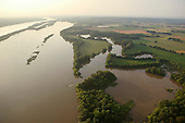 Tennessee River and farmland