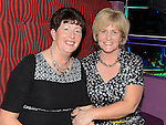 Anne Caffrey and Pauline Hynes pictured at the benefit night for DJ Tayo Sheridan in Galaxy Night Club. Photo:Colin Bell/pressphotos.ie