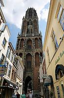 De Domtoren in het centrum van Utrecht