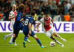 Jairo Riedewald of Ajaxin action during the UEFA Europa League Final match at the Friends Arena, Stockholm. Picture date: May 24th, 2017.Picture credit should read: Matt McNulty/Sportimage