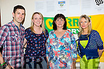Emmet Doolin, Aisling O'Grady, Kathleen Hickey and Noran Roper at the Doolin clan gathering in Kilcummin on saturday