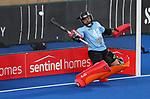 Georgia Barnett during the Pro League Hockey match between the Blacksticks women and Great Britain, National Hockey Arena, Auckland, New Zealand, Saturday 8 February 2020. Photo: Simon Watts/www.bwmedia.co.nz
