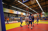 BASKETBAL: LEEUWARDEN: 30-03-2014, Sportcentrum Kalverdijkje, ARIS Leeuwarden - Weert, uitslag 80-70, ©foto Martin de Jong