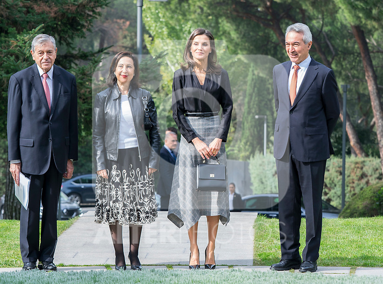 Defense Minister Margarita Robles and Queen Letizia attend 'International Friendship Awards' in Madrid. October 09, 2019. (ALTERPHOTOS/ Francis Gonzalez)