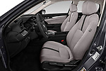 Front seat view of a 2019 Honda honda LX 4 Door Sedan front seat car photos