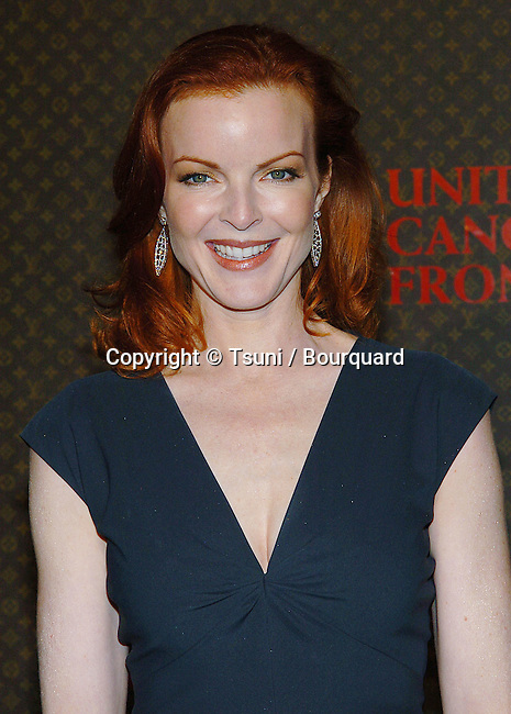 Marcia Cross arriving at the  Louis Vuitton United Cancer Gala Event on The Universal Lot in Los Angeles. November 8, 2004.