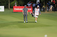 Matthew Fitzpatrick (ENG) on the 16th fairway during the final round of the WGC HSBC Champions, Sheshan Golf Club, Shanghai, China. 03/11/2019.<br /> Picture Fran Caffrey / Golffile.ie<br /> <br /> All photo usage must carry mandatory copyright credit (© Golffile | Fran Caffrey)
