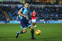 Luke O'Nien of Wycombe Wanderers during the Sky Bet League 2 match between Wycombe Wanderers and Morecambe at Adams Park, High Wycombe, England on 12 November 2016. Photo by David Horn.