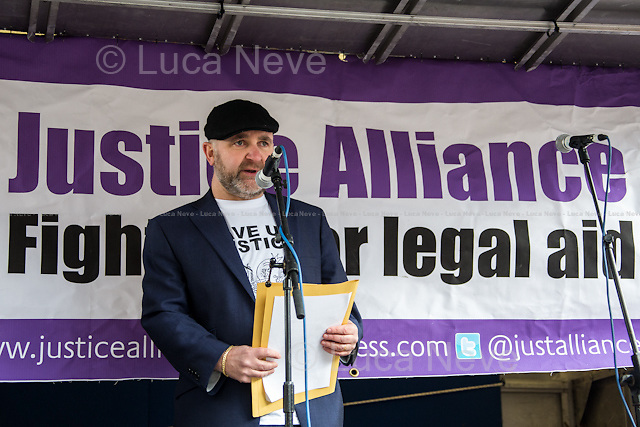 Greg Foxsmith (Criminal Defence Advocate and Justice Alliance Member). <br />