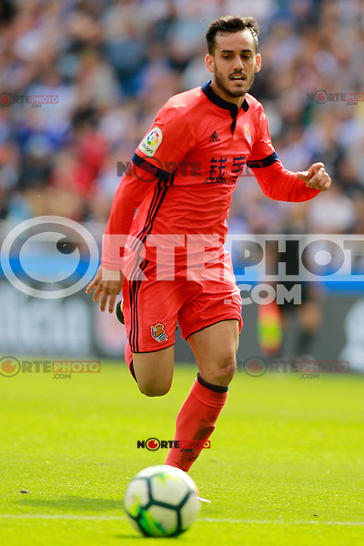 Real Sociedad's Juanmi Jimenez during La Liga match. September 10,2017. (ALTERPHOTOS/Acero) /NortePhoto.com