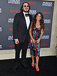 "Kyle Newacheck - director, Marisa Newacheck  arrives at the LA Premiere Of Netflix's ""Murder Mystery"" at Regency Village Theatre on June 10, 2019 in Westwood, California"