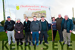 Pictured at the Lawlor/Mulvihill/Clashmealcon Martyrs' Sinn Fein parade in BAllyduff on Saturday evening last were John Mulvihill, Kathleen Kane, Pat O'Gorman, Thomas Mulvihill, Martin Mulvihill, Brendan O'Gorman, Pat Kane & Jer Browne.
