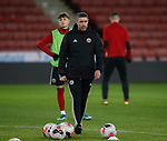 Andrew Hughes lead coach of Sheffield Utd during the Professional Development League match at Bramall Lane, Sheffield. Picture date: 26th November 2019. Picture credit should read: Simon Bellis/Sportimage