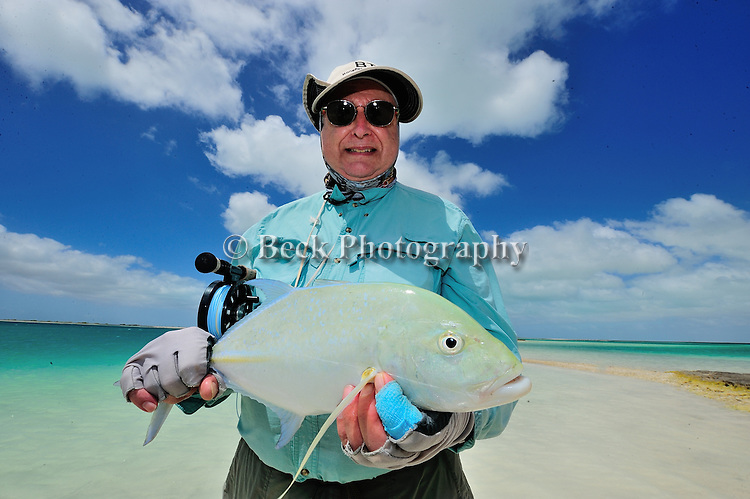 Bill Kappel's blue fin trevally