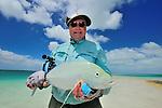 Bill Kappel's blue fin trevally