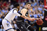 Washington, DC - MAR 11, 2018: Davidson Wildcats guard Jon Axel Gudmundsson (3) in action during the Atlantic 10 men's basketball championship between Davidson and Rhode Island at the Capital One Arena in Washington, DC. (Photo by Phil Peters/Media Images International)