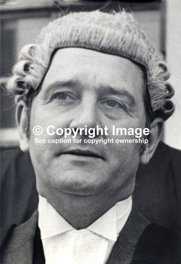 Martin Kennedy, barrister, Rep of Ireland, called to the N Ireland Bar, June, 1976, 19760600405MK.<br />