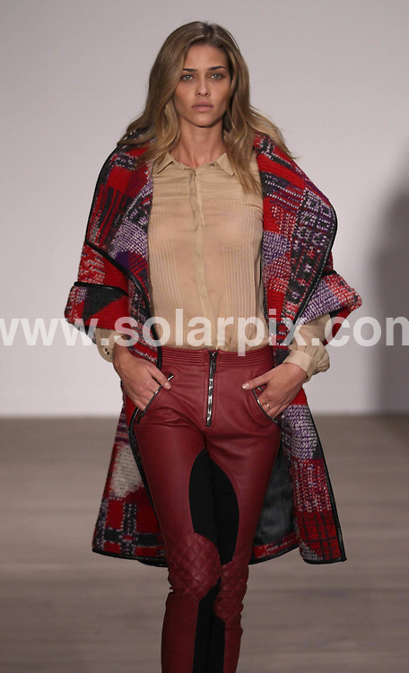 **ALL ROUND PICTURES FROM SOLARPIX.COM**                                             **NO UK NEWSPAPER PUBLICATION**.**UK MAGAZINE & SUPPLEMENT PUBLICATION ONLY** AND NO PUBLICATION IN AUSTRALIA, BELGIUM, FRANCE, GERMANY, ITALY, SCANDINAVIA AND USA**                                                                                  Caption: The Matthew Williamson catwalk show at London Fashion Week 2011, London, UK. 20 February 2011                                                                              This pic: Matthew Williamson catwalk show                                                                               JOB REF: 12851 SFE       DATE: 20_02_2011                                                           **MUST CREDIT SOLARPIX.COM OR DOUBLE FEE WILL BE CHARGED**                                                                      **MUST AGREE FEE BEFORE ONLINE USAGE**                               **CALL US ON: +34 952 811 768 or LOW RATE FROM UK 0844 617 7637**