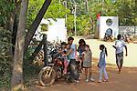 Motobike in Auroville. 2015