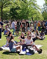 Nederland Rotterdam 2018.  Bevrijdingsfestival ZH op 5 mei in Het Park.  Foto mag niet in negatieve / schadelijke context gepubliceerd worden.  Foto Berlinda van Dam / Hollandse Hoogt