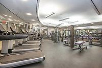 Gym at 120 Riverside Boulevard