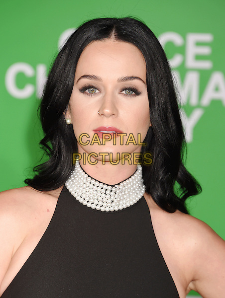 WESTWOOD, CA - DECEMBER 07: Singer-songwriter Katy Perry arrives at the Premiere Of Paramount Pictures' 'Office Christmas Party' at Regency Village Theatre on December 7, 2016 in Westwood, California.<br /> CAP/ROT/TM<br /> &copy;TM/ROT/Capital Pictures