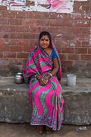 Neema, toilet caretaker, Jhenaidah