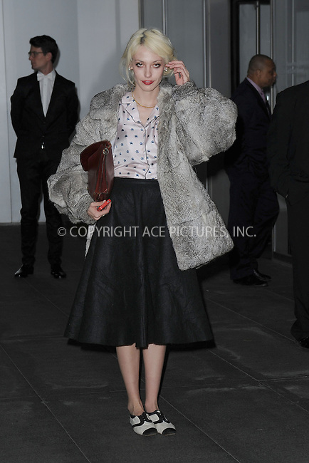 WWW.ACEPIXS.COM<br /> November 5, 2013...New York City<br /> <br /> Cory Kennedy attends The Museum of Modern Art Film Benefit: A Tribute to Tilda Swinton reception at Museum of Modern Art on November 5, 2013 in New York City.<br /> <br /> <br /> Byline: Kristin Callahan/Ace Pictures<br /> <br /> ACE Pictures, Inc.<br /> tel: 646 769 0430<br />       212 243 8787<br /> e-mail: info@acepixs.com<br /> web: http://www.acepixs.com
