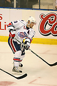 March 13, 2009:  Left Wing Karl Stewart (19) of the Rochester Amerks, AHL affiliate of the Florida Panthers, in the second period during a game at the Blue Cross Arena in Rochester, NY.  Toronto defeated Rochester 4-2.  Photo copyright Mike Janes Photography 2009