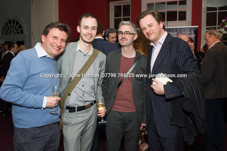 London, UK. 15.04.2014. Eifman Ballet after-party on press night for the opening of Rodin, Sky Bar, London Coliseum. Photograph © Jane Hobson.