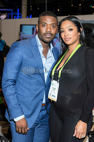 LAS VEGAS, NV - JANUARY 11: Ray J and Princess Love seen at CES 2018 in Las Vegas, Nevada on January 11, 2018. Credit: Damairs Carter/MediaPunch