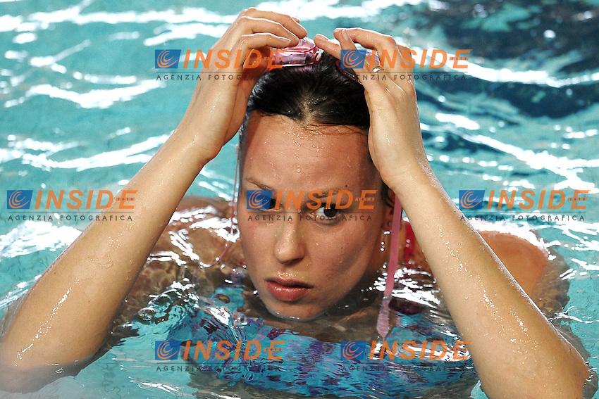 Federica Pellegrini .Riccione 07/03/2012 .Nuoto Campionati Italiani primaverili.Foto Insidefoto Andrea Staccioli