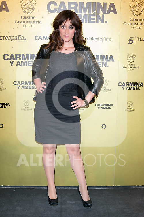 "Ana Morgade  attend the Premiere of the movie ""Carmina y Amen"" at the Callao Cinema in Madrid, Spain. April 28, 2014. (ALTERPHOTOS/Carlos Dafonte)"