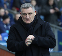 Blackburn Rovers Manager Tony Mowbray<br /> <br /> Photographer Mick Walker/CameraSport<br /> <br /> The EFL Sky Bet Championship - Blackburn Rovers v Ipswich Town - Saturday 19 January 2019 - Ewood Park - Blackburn<br /> <br /> World Copyright &copy; 2019 CameraSport. All rights reserved. 43 Linden Ave. Countesthorpe. Leicester. England. LE8 5PG - Tel: +44 (0) 116 277 4147 - admin@camerasport.com - www.camerasport.com