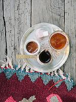 Bosnian Coffee in a Sarajevo cafe.