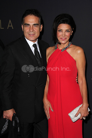 LOS ANGELES, CA - SEPTEMBER 30: Houshang Touzie, Shohreh Aghdashloo at the LA Philharmonic Opening Night Gala at the Disney Concert Hall in  Los Angeles, CA. Credit: David Edwards/DailyCeleb/MediaPunch