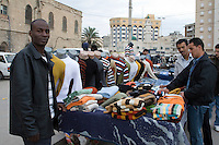 Tripoli, Libya - African Immigrant Clothing Vendor