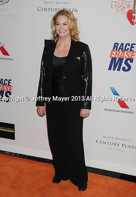 CENTURY CITY, CA- MAY 03: Actress Cybill Shepherd arrives at the 20th Annual Race To Erase MS Gala 'Love To Erase MS' at the Hyatt Regency Century Plaza on May 3, 2013 in Century City, California.