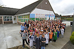 at the Green Flag Initiative Mural Painting at St.Colmcilles NS, Tullydonnell...Picture Jenny Matthews/Newsfile.ie