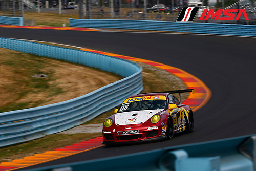 30 June-2 July, 2016, Watkins Glen, New York USA<br /> 08, Martin Harvey, CAN, Gold, 2012 Porsche<br /> &copy;2016, Jake Galstad<br /> LAT Photo USA