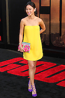 "HOLLYWOOD, LOS ANGELES, CA, USA - MAY 08: Jamie Chung at the Los Angeles Premiere Of Warner Bros. Pictures And Legendary Pictures' ""Godzilla"" held at Dolby Theatre on May 8, 2014 in Hollywood, Los Angeles, California, United States. (Photo by Xavier Collin/Celebrity Monitor)"