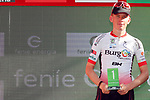 Jetse Bol (NED) Burgos BH wins the days combativity award at the end of Stage 17 of the La Vuelta 2018, running 186.1km from Ejea de los Caballeros to Lleida, Spain. 13th September 2018.                   <br /> Picture: Unipublic/Photogomezsport | Cyclefile<br /> <br /> <br /> All photos usage must carry mandatory copyright credit (&copy; Cyclefile | Unipublic/Photogomezsport)