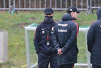 Trainer Niko Kovac (Eintracht Frankfurt) und Co-Trainer Robert Kovac (Eintracht Frankfurt) - 04.04.2018: Eintracht Frankfurt Training, Commerzbank Arena