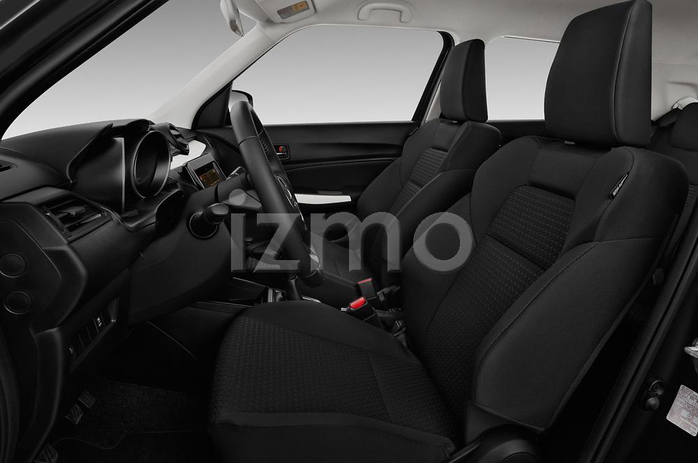 Front seat view of 2017 Suzuki Swift GL+ 5 Door Hatchback front seat car photos