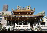 Kanteibyo Temple, Guan di Miao, dedicated to Guan Yu (Guan Di), Chinatown, Yokohama, Japan
