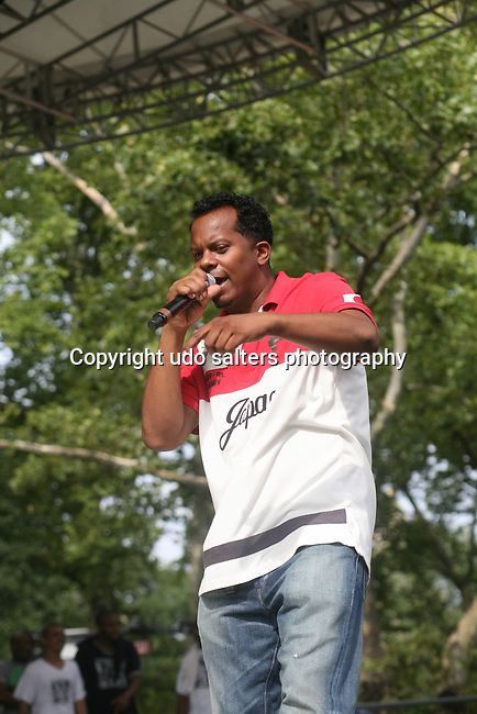 Special Ed Performs at Rock Steady Crew 36th Year Anniversary Celebration at Central Park's SummerStage, NY