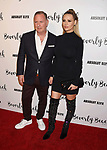 CULVER CITY, CA - OCTOBER 21: Businessman Paul Kemsley (L) and wife/TV persoanlity Dorit Kemsley attend the Dorit Kemsley Hosts Preview Event For Beverly Beach By Dorit at the Trunk Club on October 21, 2017 in Culver City, California.
