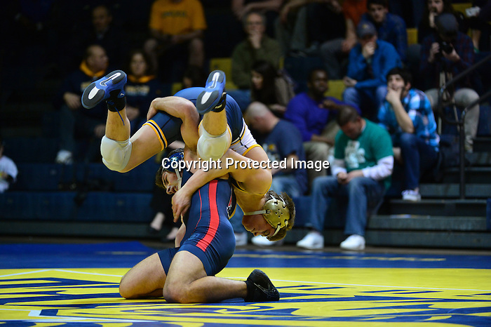Philadelphia, Pa. - The Drexel wrestling team fell to neighborhood rival Penn, 20-10, on Senior Night at the Daskalakis Athletic Center Saturday evening. With the loss, the Dragons finished their regular season at 7-15 overall and 1-6 EIWA, while the Quakers improve to 8-6, 7-4 EIWA.<br /> <br /> Penn jumped out to an early lead with an 8-3 decision in the 125 match. Kevin Devoy Jr followed by putting the Dragons on the board with a 4-3 lead after taking a 10-2 major decision at 133. At 141, Penn prevailed with a 4-3 decision to go ahead 6-4, despite a strong effort from David Pearce. Noel Blanco responded with a 8-5 decision that put the Dragons back on top, 7-6.<br /> <br /> Despite a number of very close matches and a strong effort from the Drexel wrestlers, Penn took victories in the next four weight classes. Senior Brandon Palik earned a 3-2 win in his last regular season match of his career to cut Penn's lead to 18-10. Joseph Giorgio also put in a strong showing at heavyweight, but Penn's Steven Graziano prevailed in sudden victory, 5-3. After a one team point deduction for unsportsmanlike behavior, Penn ultimately won the dual, 20-10.<br /> <br /> The Dragons will return to action when they compete in the EIWA Tournament beginning on March 8. The squad will travel down 33rd street to the Palestra, where this year's conference tournament is being hosted.<br /> <br /> <br /> Penn 20, Drexel 10<br /> 125: Caleb Richardson (Penn) DEC Tanner Shoap (DU) 8-3<br /> 133: Kevin Devoy Jr (DU) MAJ Ken Bade (Penn) 10-2<br /> 141: Jeff Canfora (Penn) DEC David Pearce (DU) 4-3<br /> 149: Noel Blanco (DU) DEC Andrew Lenzi (Penn) 8-5<br /> 157: Steve Robertson (Penn) DEC Austin Sommer (DU) 7-5<br /> 165: Ray Bethea (Penn) DEC Jason Fugiel (DU) 4-2<br /> 174: Brad Wukie (Penn) DEC Kevin Matyas (DU) 6-3<br /> 184: No. 11 Lorenzo Thomas (Penn) DEC Alex DeCiantis (DU) 4-1<br /> 197: No. 17 Brandon Palik (DU) DEC Frank Mattiace (Penn) 3-2<br /> 285: Steven Graziano (Penn) DEC Jose