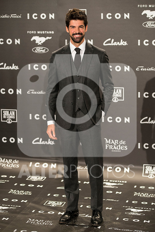 Miguel Angel Muñoz attends to the ICON awards ceremony at Velazquez's House in Madrid, October 15, 2015.<br /> (ALTERPHOTOS/BorjaB.Hojas)